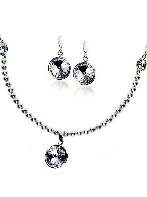 MARGOT Swarovski Pearls and Crystals Luxury Set