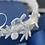 Thumbnail: AURORA Embellished Appliqué Swarovski Wedding / Communion Headband