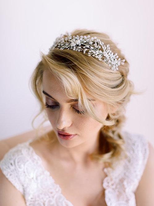 RIVER Pearl Bridal Hair Vine