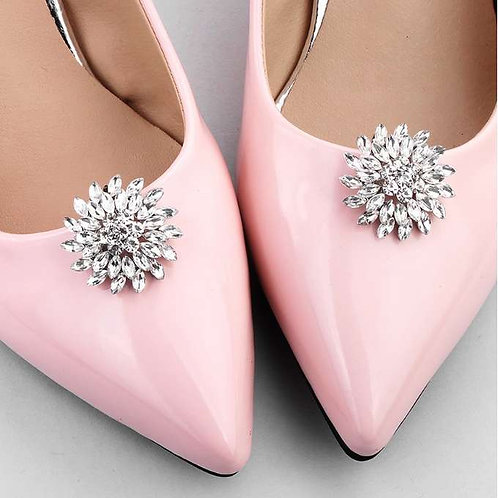 FLOW Crystal Bridal Shoe Clips