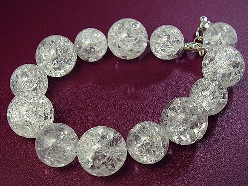 CRYSTAL Balls with Rhinestone Bracelet 2