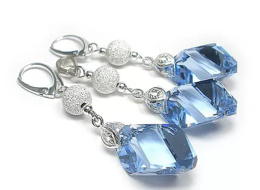 DIAMOND Sapphire Light Swarovski Crystal Set