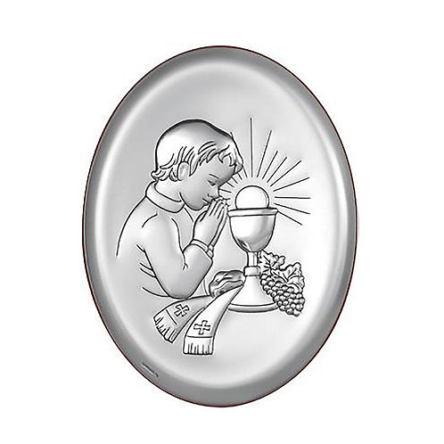 First Holy Communion Silver-plated Gift Image for Boy