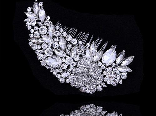 GLORIA Crystal Bridal Hair Comb
