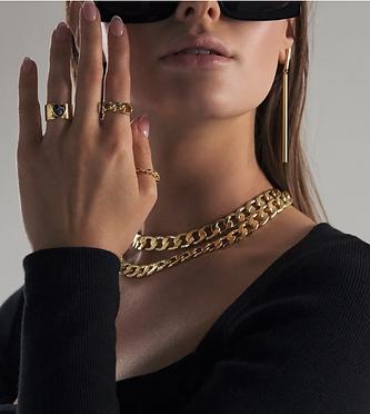 Classic Long Gold Earrings TOVBD22 (3).p