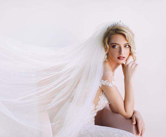 CHARLENE Silver Bridal Crown - Tiara g_e