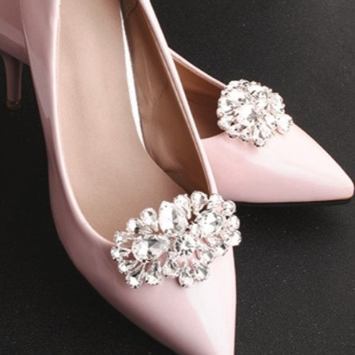 RICH Crystal Bridal Shoe Clips