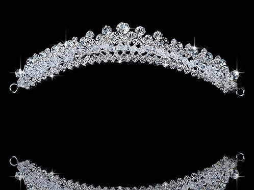 MONA Exclusive Bridal Tiara / Comb style with Crystals
