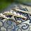 Thumbnail: JOLIE Set of Three Wedding Swarovski White Pearl Hair-pins or Individual