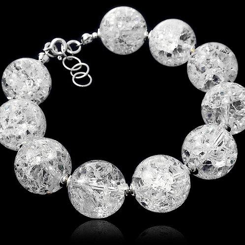 CRYSTAL Balls with Rhinestone Bracelet