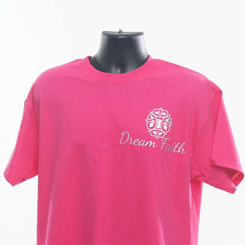 Youth T-Shirts ( Logo  L. shoulder) Pink, Black, Green, Red, Yellow, Blue, white