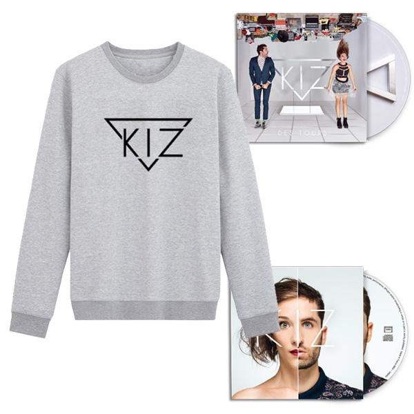 Kiz PACK Cd+Ep+Sweat