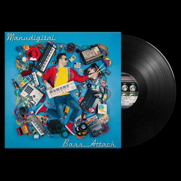 Manudigital Vinyl Bass Attack