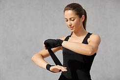 isolated-shot-slim-woman-boxing-bandages
