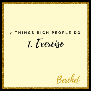 7 Things Rich People Do