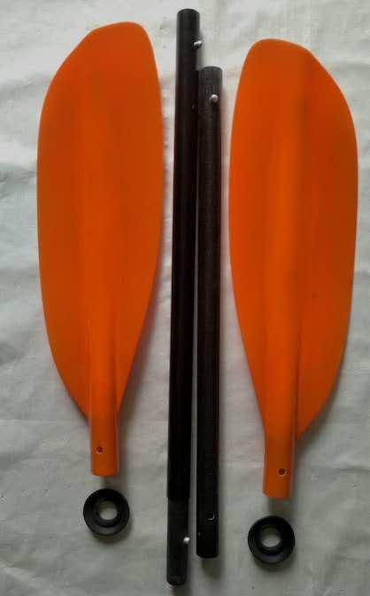 4 Part Fibreglass Packraft Paddle