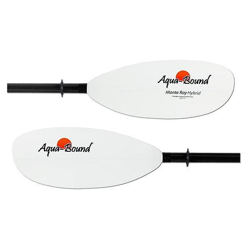 Aqua-Bound Manta Ray Hybrid 4 Part Paddle