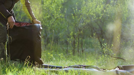 How to Inflate your Kokopelli Packraft