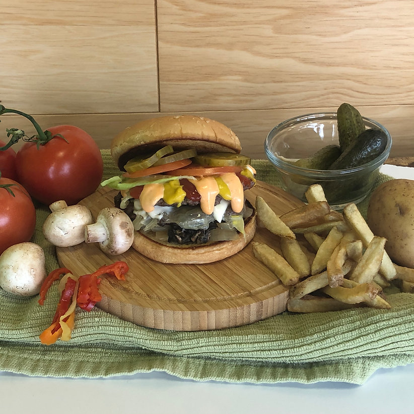 "<img src=""photo 2020-01-17, 11 40 03 AM.jpg"" alt=""burger fries and fresh ingredients"">"