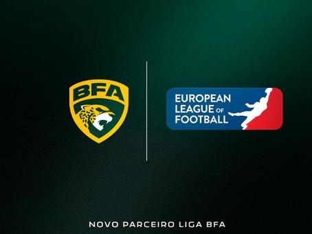 Liga BFA e European League of Football anunciam parceria