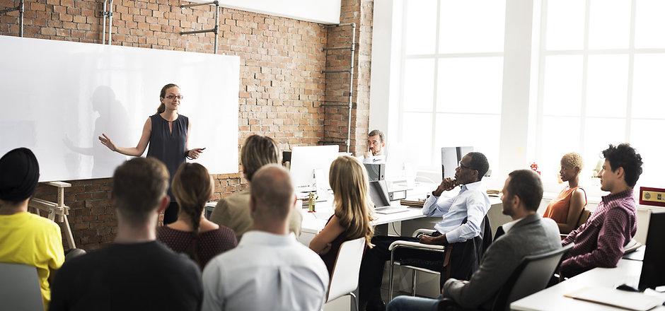Business Team Training Listening Meeting