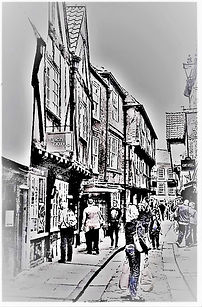 Shambles, York (8) By Amy Flint
