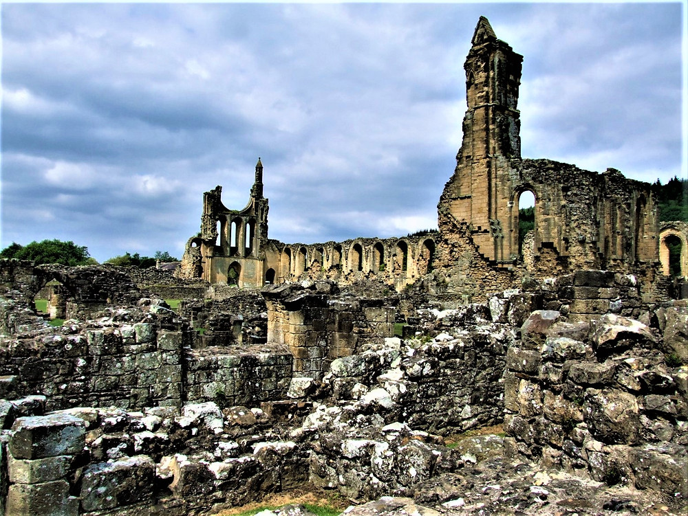 A ghostly figure searches for her lost love at Byland Abbey
