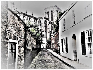 Ghostly Experience along Chapter House Street, York