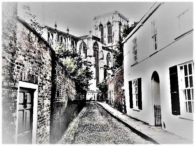 Chapter House Street, York