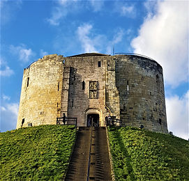 Clifford's Tower, York by Amy Flint