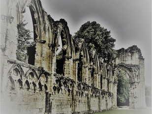 The Ghosts of St Mary's Abbey, York