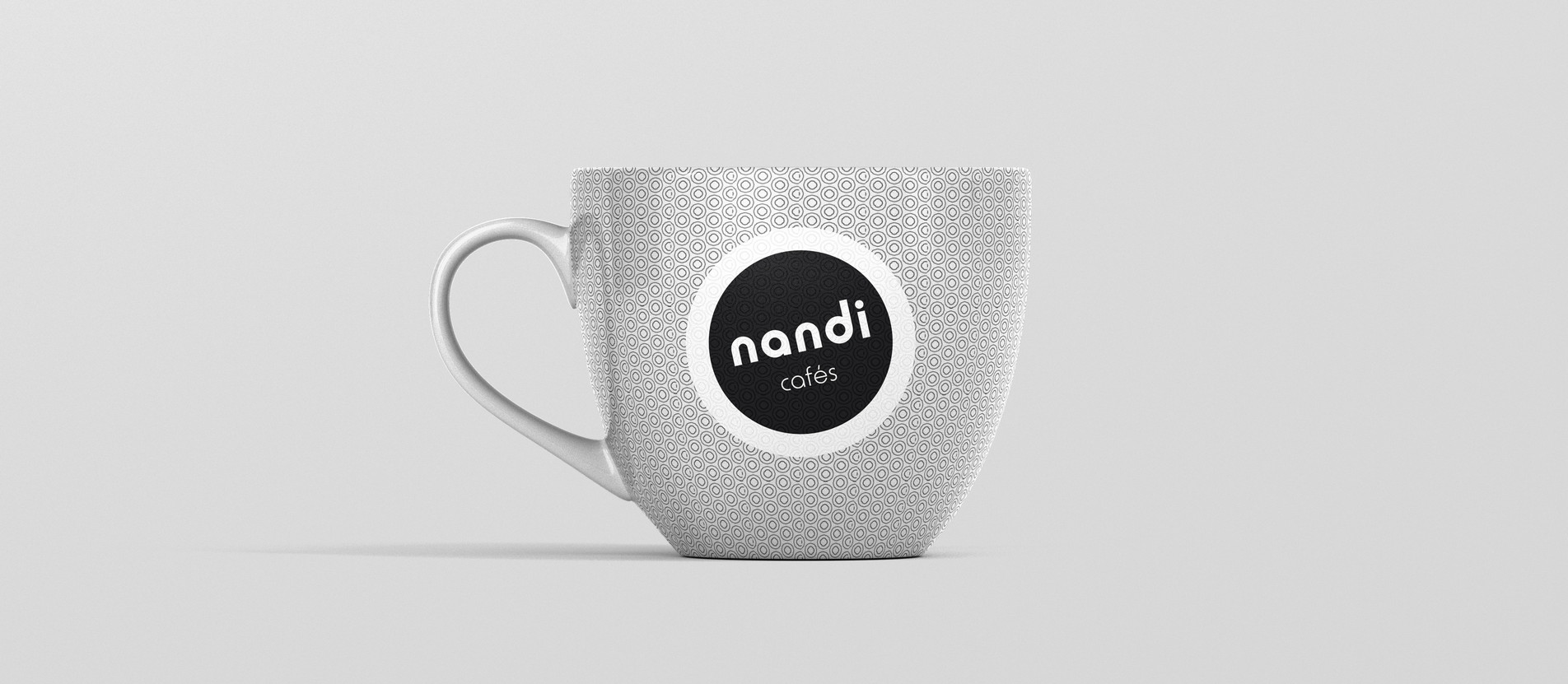 Design Gráfico Chávenas Nandi Cafés