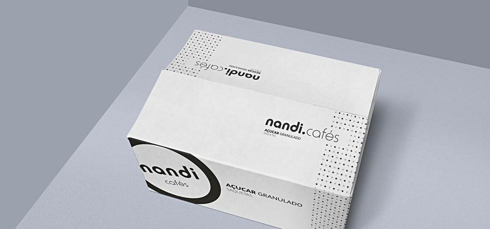 Design Gráfico packiging Nandi Cafés