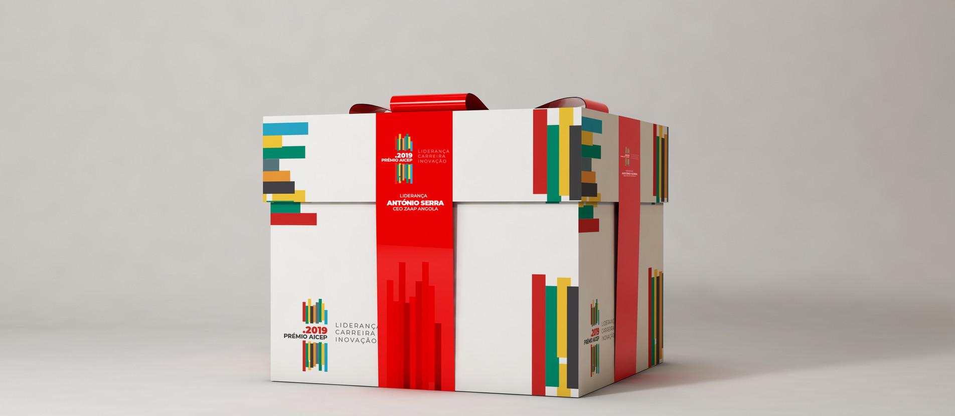 Branding - Prémio AICEP 2019 Gift Box