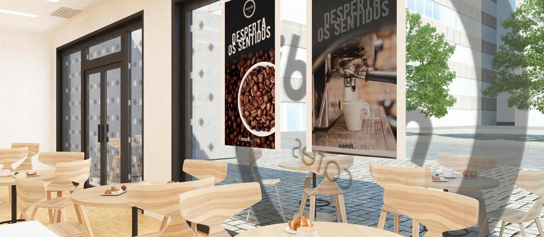 Design Gráfico Lojas Nandi Cafés