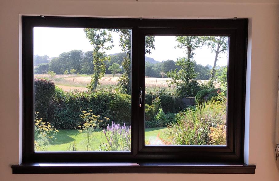 WINDOWS -Rosewood double glazed