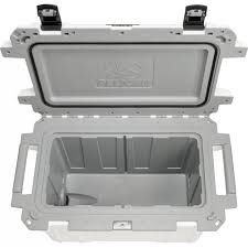 Pelican - 70 Qt. Cooler, White/Gray