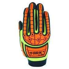 Magid - T-Rex Primal Series Slim-Fit Mechanics Impact Glove, Cut Level 4, Large
