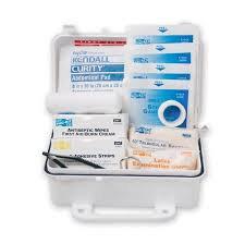 Pac-Kit - Weatherproof Plasic Basic #10 First Aid Kit
