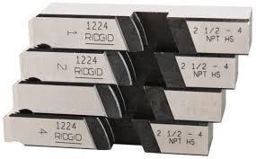 "Ridgid - Model 1224 Threading Dies, 2-1/2"" - 4"" NPT"