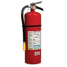 Kidde - ABC Fire Extinguisher 10# W/Vehichle Bracket
