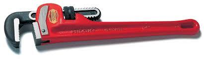 "Ridgid - 18"" Steel Pipe Wrench"