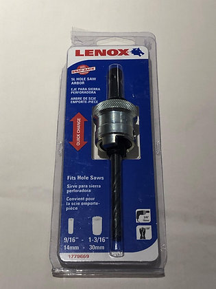 "Lenox - Snap-Back Arbors, 9/16"" to 1-3/16"" Dia. , (5L)"