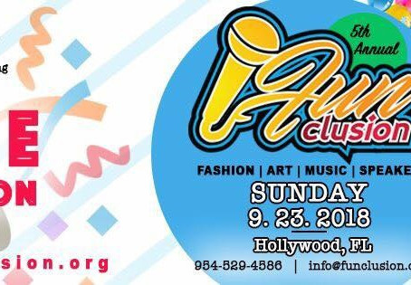 FUN and INCLUSION = 5th Annual FUNCLUSION Event