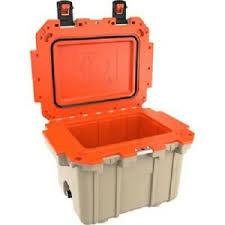 Pelican - 30 Qt. Cooler, Tan/Orange
