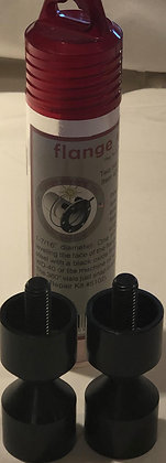 """Flange Wizard - Two Hole Pins, 1/2"""" - 1-7/16"""" Threaded"""