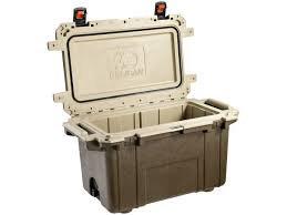 Pelican - 70 Qt. Cooler, Brown/Tan