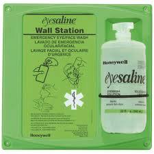 Honeywell - 32oz Single Bottle Eye Wash Station