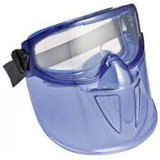 Kimberly Clark - Mono-Goggle XTR Blue Frame, Faceshield and Clear Lense