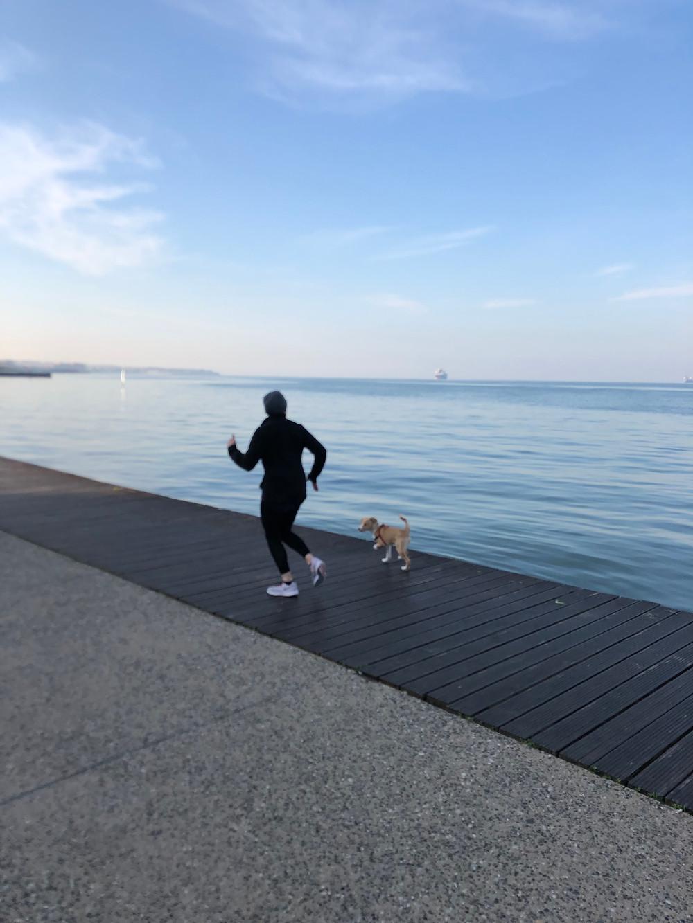 Το τρέξιμο με έκανε να αλλάξω την αυτοφρον΄τιδα μου